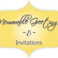 Memorable Greetings & Invitations